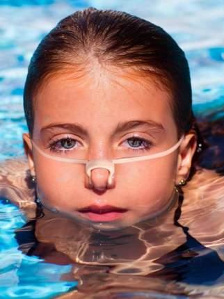 Зажим для носа TYR Swim Nose Clip с ремешком, цвет 999