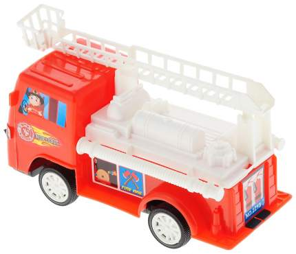 TOYBOLA Машина пожарная, инерционная, 7,8х10,3х18,8см TB-027