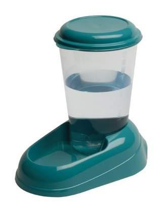 Кормушка-автопоилка для кошек и собак Ferplast Nadir, синий, красный, зеленый, 3 л
