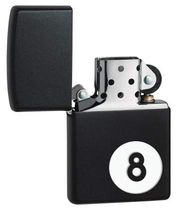 Зажигалка Zippo Billiards Black Matte