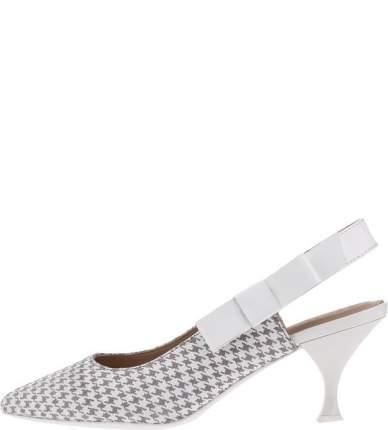 Туфли женские GEOX D92BWA 00766 C1303 белые/серые 38 IT