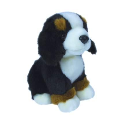 Мягкая игрушка Teddykompaniet щенок 19 см, черно-бело-коричневый,2616