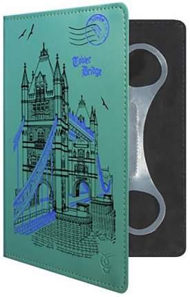 """Чехол VIVACASE London универсальный 7"""" Green"""