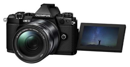 Фотоаппарат системный Olympus OM-D E-M5 Mark II 14-150 Kit Black