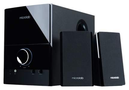 Колонки компьютерные 2.1 Microlab M500 Black Черный