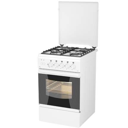 Газовая плита (50-55 см) Flama AG14212 White