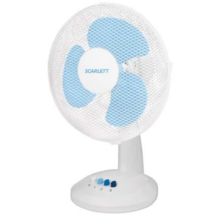 Вентилятор настольный Scarlett SC-1171 white/blue