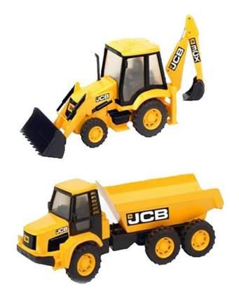 Игровой набор Hti (Jcb) Стройка с машинками JCB