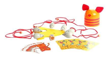 Настольная игра Bondibon кошка и мышки, 24x24x8 см