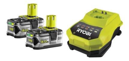 Набор аккумулятор и зарядное устройство Ryobi RBC18LL50 Battery & Charger 18V EU XXX