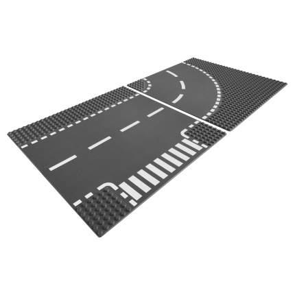 Конструктор LEGO City Supplementary Т-образный перекрёсток и поворот (7281)