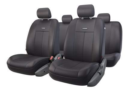 Комплект чехлов на сиденья Autoprofi TT-902P BK/BK