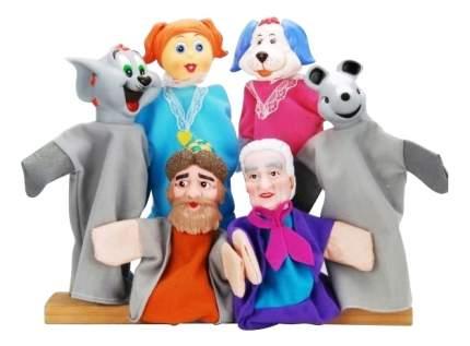 Игровой набор Жирафики Кукольный театр Репка 6 кукол 68321