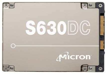 Внутренний SSD накопитель Micron S630DC 3,8TB (MTFDJAL3T8MBT-2AN1ZABYY)