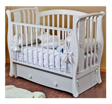 Детская кровать Можга Красная Звезда Ярослава С551 белая