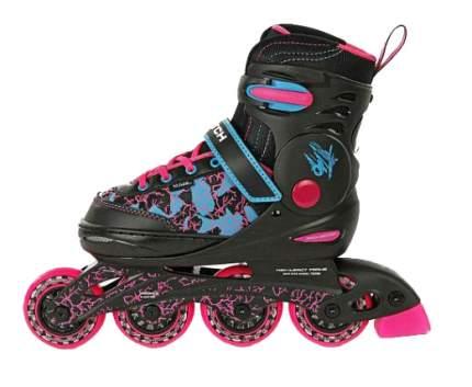 Роликовые коньки X-Match р 34-37 розовые