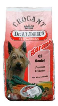 Корм для собак Dr. Alder's Crocant говядина, для пожилых 6 кг