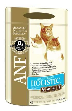 Сухой корм для кошек ANF Holistic, курица, 2кг