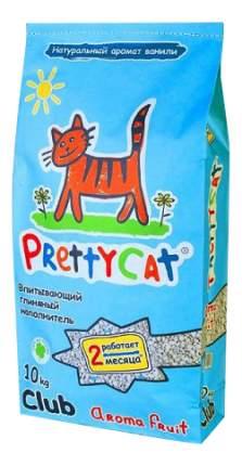 Впитывающий наполнитель для кошек PrettyCat Aroma Fruit глиняный, 10 кг