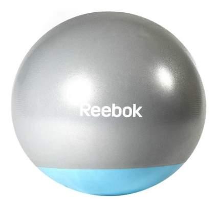 Гимнастический мяч Reebok Gym Ball серебристый; голубой 55 см