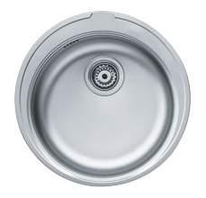 Мойка для кухни из нержавеющей стали Franke Ronda ROL 610-38 1010179457 серебристый