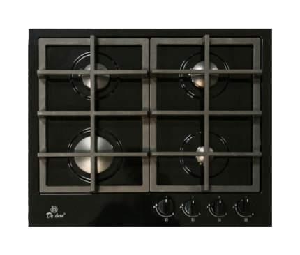 Встраиваемая варочная панель газовая DeLuxe TG4 750231F-075 Black