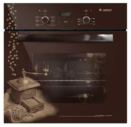 Встраиваемый электрический духовой шкаф GEFEST ДА 622-02 К17 Brown