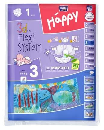 Подгузники Bella Baby Happy Midi 3 (5-9 кг), 1 шт.