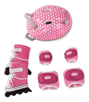 Набор для куклы Gotz для катания на роликах защита на колени, руки, ролики шлем