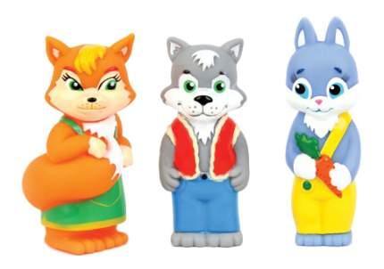 Игровой набор Затейники Лисичка, волк и медведь