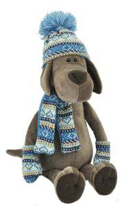 Мягкая игрушка Orange Toys Пёс Барбоська в шапочке 20 см
