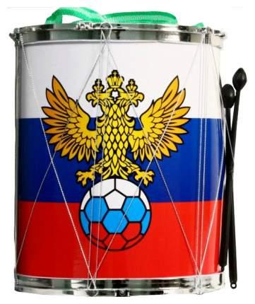 Барабан игрушечный Junfa Toys Флаг России H6-023
