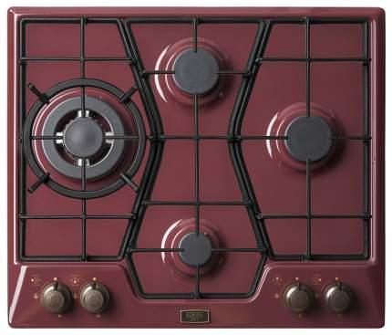 Встраиваемая варочная панель газовая Korting HG 6115 CTRR Red