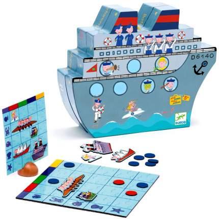 Настольная игра Djeco Морской бой, 5270