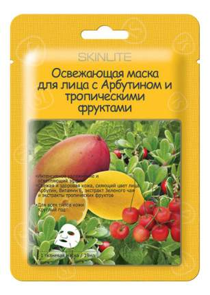 Маска для лица SKINLITE с Арбутином и тропическими фруктами 1шт