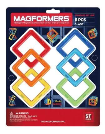 Конструктор магнитный Magformers Квадраты