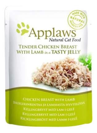 Влажный корм для кошек Applaws, ягненок, курица, 70г