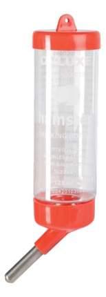 Поилка ниппельная с шариком для грызунов Triol, красный, 80 мл