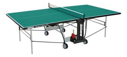 Теннисный стол Donic Outdoor Roller 800 зеленый, с сеткой