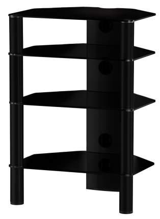 Тумба под телевизор приставная SONOROUS RX 2140-B-HBLK 60х50х86 см, черный