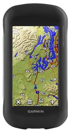 Туристический навигатор Garmin Montana 680T черный