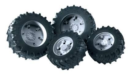 Шины Bruder Для системы сдвоенных колёс с серыми дисками 4 шт.