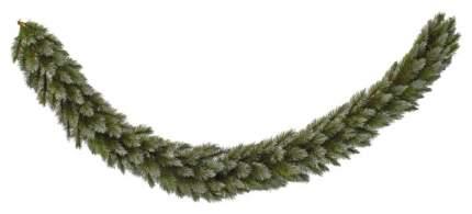 Хвойная гирлянда Triumph tree Женева заснеженная 73101 (379748) 270 см