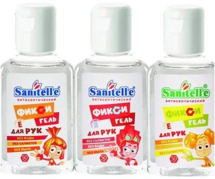 Фикси-гель Sanipone с витамином Е - Cherry, 50 мл