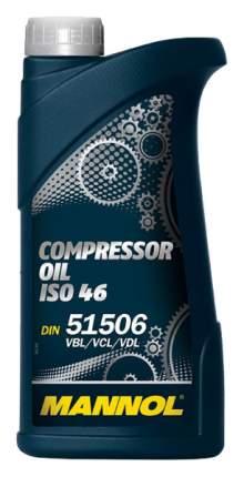 Минеральное масло для воздушных компрессоров  Mannol Compressor Oil ISO 46 1 л.