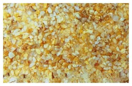 Грунт для аквариума ВАКА Кварц желтый природный 1кг 15891