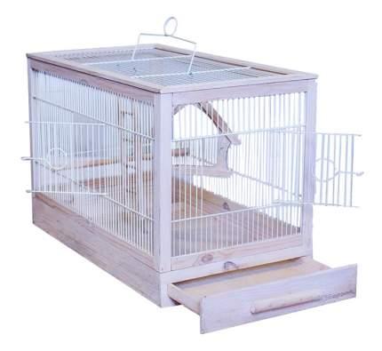 Клетка для птиц ZooM 47,5x27x32 8760бел