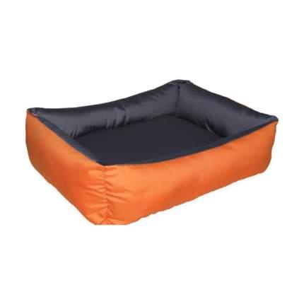 Лежанка для кошек и собак Ladioli 44x54x14см серый, оранжевый