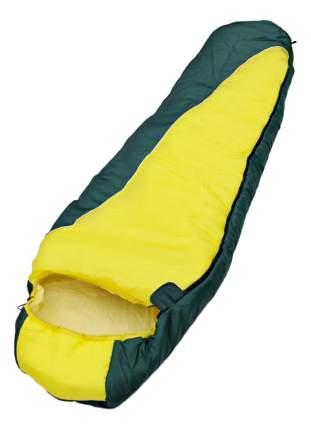 Спальный мешок Chaika Solo 250 желто-зеленый, двусторонний
