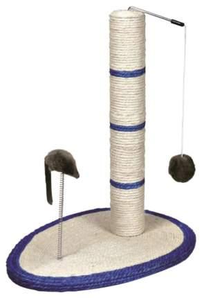Когтеточка для кошек Triol Когтеточка с мышкой на пружине с шариком , размер 30x50 см